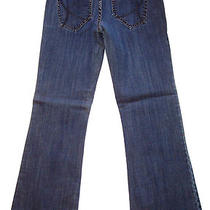 Guess Sophie Flare Jeans Pants Denim Womens Sz 28 / 31 R Regular Sku 024 Photo