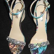 Guess Strappy High Heel Sandals Style Catarina4 Size 6.5 Photo