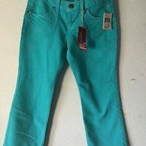 Guess Stretchy Turquoise Jeans Size 31 Photo