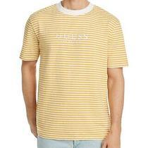 Guess Stripe Tee Yellow/white  Xl Photo