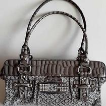Guess Stylish Gray  Shoulder Bag Handbag Purse Photo