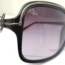 Guess Sunglasses Glasses Gu 7042 Blk-35 Black Authentic Free Shipping 59-18-130 Photo