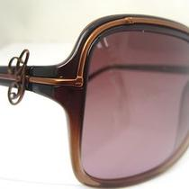 Guess Sunglasses Glasses Gu 7042 Brn-34 Brown Authentic Free Shipping 59-18-130 Photo