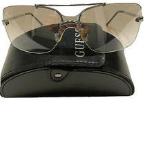 Guess Sunglasses Gu 224 Axel Silver Gradient Rimless Photo