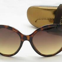 Guess Sunglasses Gu7402 52f Dark Havana Brown Frame Brown Gradient Lenses W Case Photo