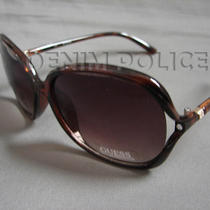 Guess Sunglasses Guf216 Brn 34 Women's Brown Photo
