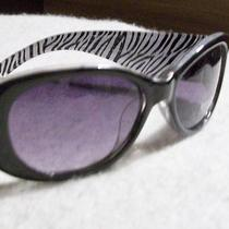 Guess Sunglasses New Gu208 Black Zebra Lined  Photo