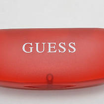 Guess Sunglasses Red Plastic Magnetic Hinged Hard Case Photo