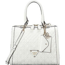 Guess Sunset Quilt Satchel - White Photo