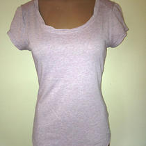 Guess T-Shirt Size Medium Light Purple Lk Rhinestone Photo