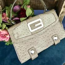 Guess Taupe Top Handle Handbag Photo
