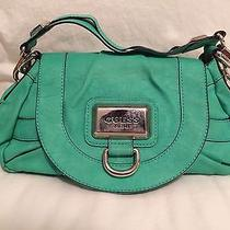 Guess Turquoise Shoulder Bag Photo