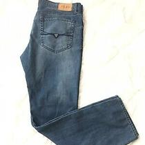 Guess Ultra Slim Mccrae Fit Jeans Mens Size 38(40)x32 Blue Med Wash Photo