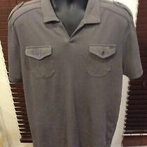 Guess Usa Men's Slim Fit Grey Gray Short Sleeve Shirt Xxl 2xl Photo