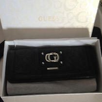 Guess Wallet Black Bnwt Boxed Photo