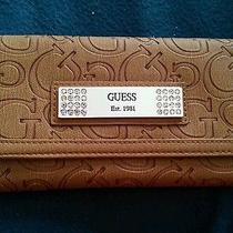 Guess Wallet for Women Brown Photo
