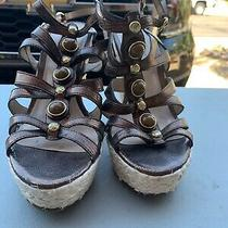 Guess Wedge 8 Brown With Jewels Photo