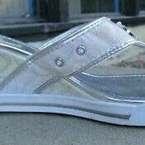 Guess Wedge Sandal Sneakers Wedge Size 8 Photo