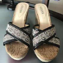 Guess Wedge Sandals 8.5 Photo