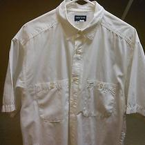 Guess White Men's Dress Shirt. Photo