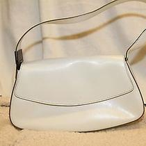 Guess White Purse Modern Simple Handbag Shoulder Strap  Photo