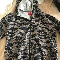 Guess Windbreaker Camo Camouflage Military Army Size L Photo