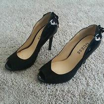 Guess Women Black Heels Size 5.5 Photo