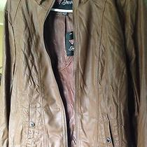 Guess Women Cognac-Brown Jacket Xl Photo