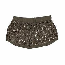 Guess Women Green Shorts S Photo