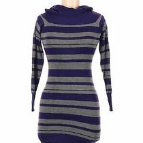 Guess Women Purple Turtleneck Sweater M Photo