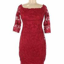 Guess Women Red Cocktail Dress M Photo