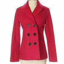 Guess Women Red Wool Coat S Photo