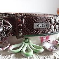 Guess Women's Belt Mother of Pearl New Size Large Photo
