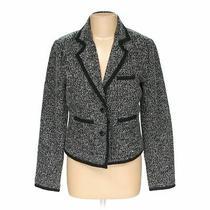 Guess Women's  Blazer Size L  Black Grey  Polyester  Good Condition Photo
