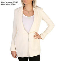 Guess Women's Formal Jacket Blazer in White Summer/spring Collection Brand New Photo