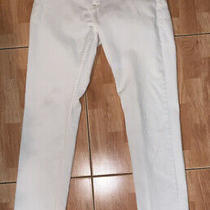 Guess Women's Jeans Size 28 Foxy Skinny White Denim Photo