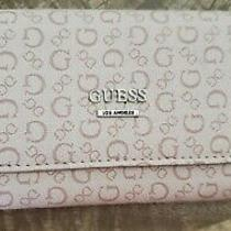 Guess Women's Khaki Wallet Organizer Clutch Photo
