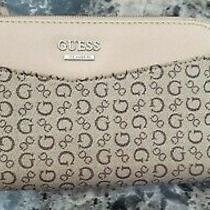 Guess Women's Mocha Wallet Organizer Clutch  Photo