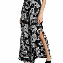 Guess Women's Pants Black Size Small S Shay Vented Wide Leg Printed 89 658 Photo