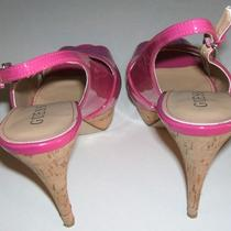 Guess Women's Pink Platform Heels  Photo