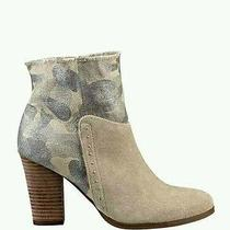 Guess Women's Sana Multi Material Chunky Heel Booties Size 5.5 Photo