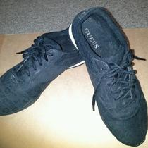 Guess Women's  Size 7 Black Sneakers  Photo