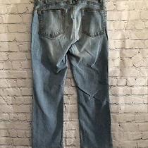 Guess Women's Stretch Denim Jeans- Light Wash Straight Leg- Size 29  Inseam 25