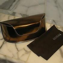 Guess Women's Sunglasses/eyeglasses  Case With Cloth. Brand New. Authentic. Photo