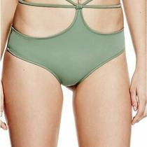 Guess Women's Swimwear Green Size Small S Strappy Bikini Bottom 55- 574 Photo