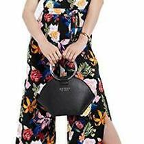 Guess Women's Tamiko Printed O-Ring Jumpsuit Wild Floral Print (Black Xs) Photo