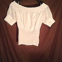 Guess Women's White Shirt Photo