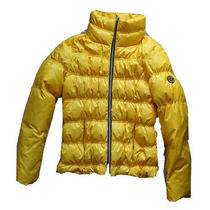 Guess Women Yellow Winter Coat Jacket Size Small Photo