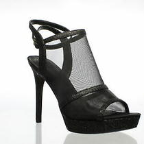 Guess Womens Afra Black Ankle Strap Heels Size 8.5 (701167) Photo