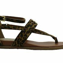 Guess Womens Cartur Open Toe Casual Strappy Sandals Leopard Size 7.0 0pal Photo